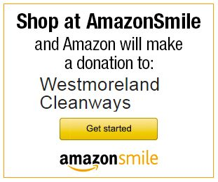 Shop at Amazon Smile and Amazon will make a Donation to Westmoreland Cleanways - get started