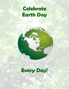 Celebrate Earth Day book cover