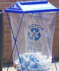 A ClearStream recycling bin
