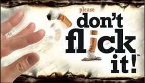 Please don't flick it
